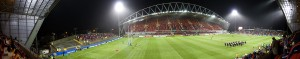 Thomond Park Panorama, Munster V Montauban 10/10/08, Prior to kickoff