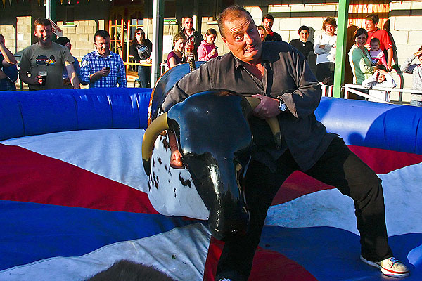 Mechanical Bull at Ireland's Bull and Booze Festival