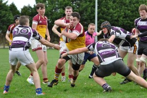 Action from the U18's game with Kilrush
