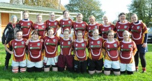 The Bruff Womens team that were narrowly beaten by Richmond at the weeknd
