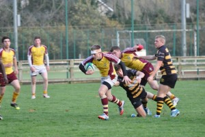 Paul Downes who scored 18 points for the u20's