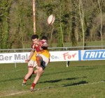 Kevin McManus was in fine kicking form for the u20s