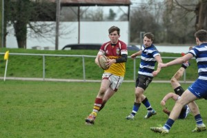 U18's in action