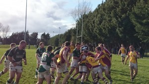 Bruff showed solid 2nd Half defence