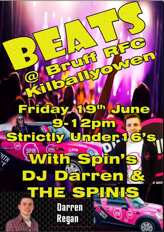 Beats at Bruff RFC