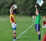 Hooker John Hogan who scored a try for Bruff in Dundalk