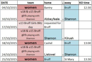 1510 womens and girls fixtures Oct15