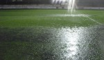 Pitch flooded